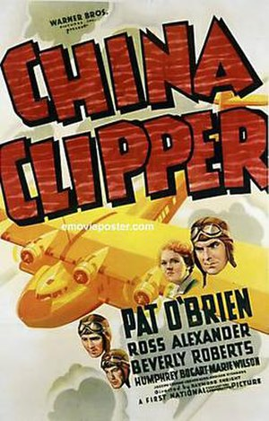 China Clipper (1936 film) - theatrical film poster
