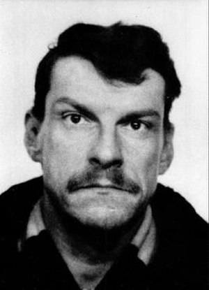 Christer Pettersson - Police photo of Christer Pettersson