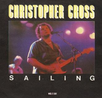 Sailing (Christopher Cross song) - Image: Christopher Cross Sailing (single)