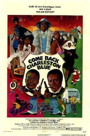 Come Back, Charleston Blue - Theatrical release poster