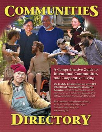Communities Directory - Cover of printed Directory, 2007