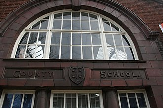 County Upper School - The original West Suffolk County School, Northgate Street, Bury St Edmunds