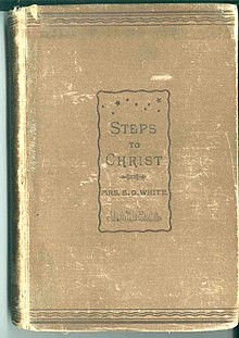 Cover of original, 1892 edition of Steps to Christ (by Ellen White).jpg