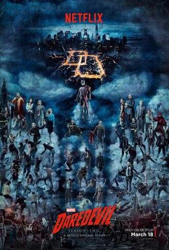 Daredevil (season 2) - Promotional poster