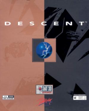 Descent (video game) - Image: Descent cover