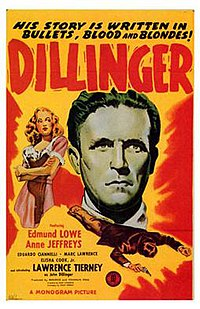 Dillinger was a Monogram release in 1945.