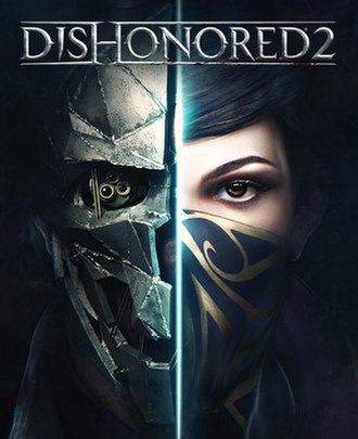 Dishonored 2 - Image: Dishonored 2 cover art