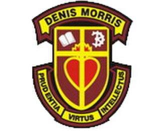 Denis Morris Catholic High School - Image: Dmchs logo