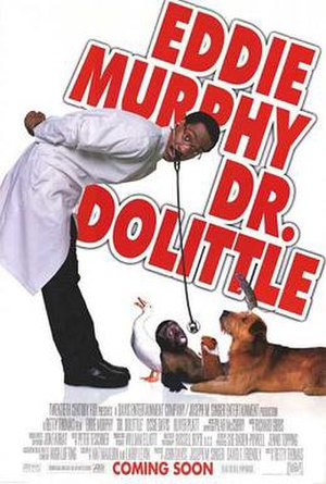 Dr. Dolittle (film) - Theatrical release poster