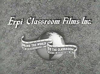 Encyclopædia Britannica Films - Image: ERPI Classroom Films logo (1941)