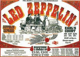 Earls Court 1975 album by Led Zeppelin