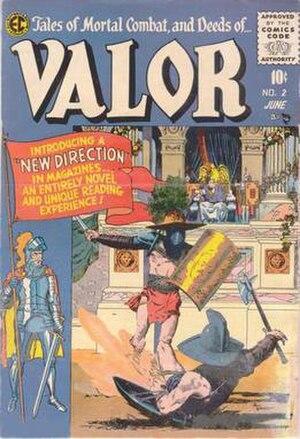 Valor (EC Comics) - Image: Ecvalor