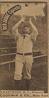Ed Swartwood American baseball player