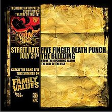 The Bleeding Ffdpthebleeding Jpg Single By Five Finger Punch