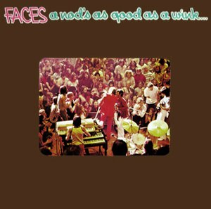 A Nod Is As Good As a Wink... to a Blind Horse - Image: Faces A Nod Is as Good as a Wink...To a Blind Horse (album cover)