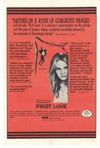 First Love (1970 film) - Film poster