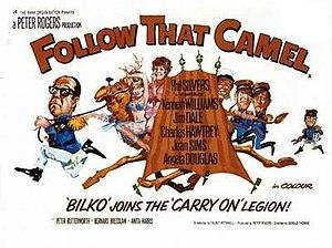 Follow That Camel - Original UK quad poster by Renato Fratini