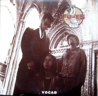 Vocab (song) - Image: Fugees Vocab single cover