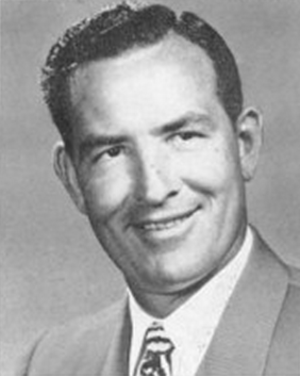 Garvin Beauchamp - Beauchamp pictured in Prickly Pear 1953, Abilene Christian yearbook