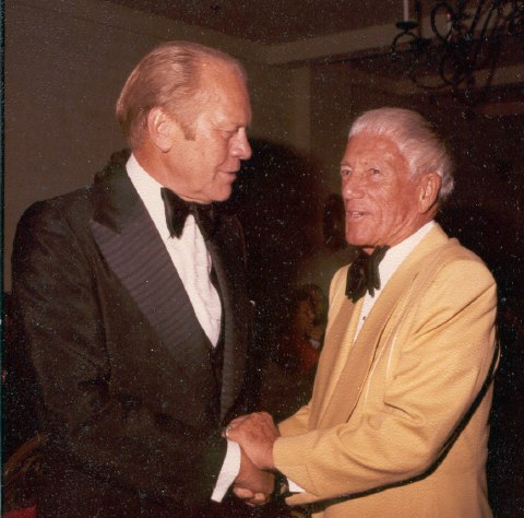 Gerald Ford and Roy W. Hill