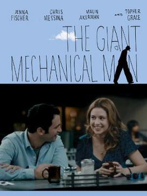 The Giant Mechanical Man - Theatrical poster