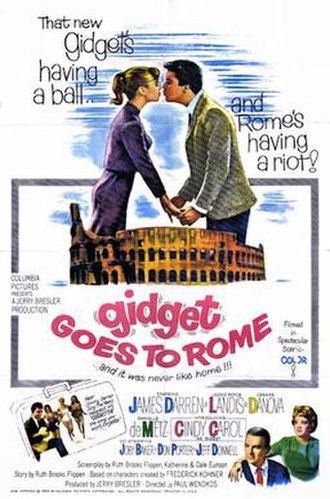Gidget Goes to Rome - 1963 theatrical poster