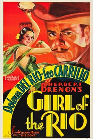Girl of the Rio - Theatrical poster of the film