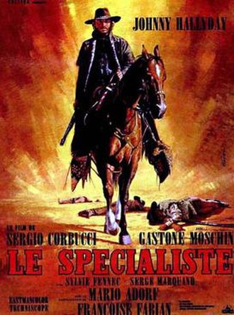 The Specialist (1969 film) - French film poster