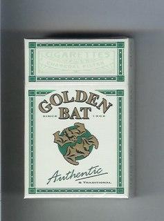 Golden Bat (cigarette) Japanese filterless cigarette brand