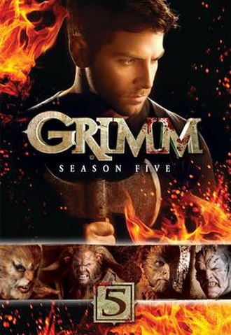 Grimm (season 5) - DVD cover