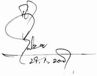 Gulzar - Image: Gulzar signature