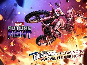 Gwenpool - The Unbelievable Gwenpool Promotional Art for Marvel Future Fight