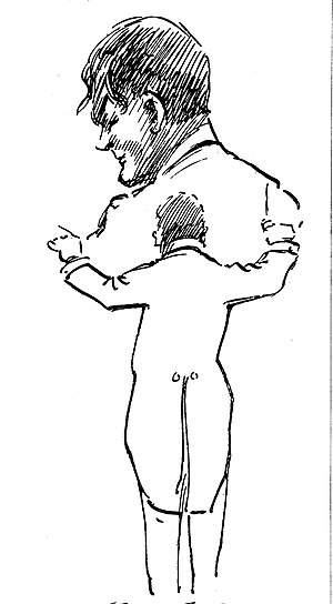 Hamilton Harty - Harty sketched by a member of the Hallé, c. 1920