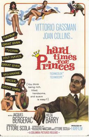 Hard Time for Princes - Image: Hard times for princes movie poster 1965