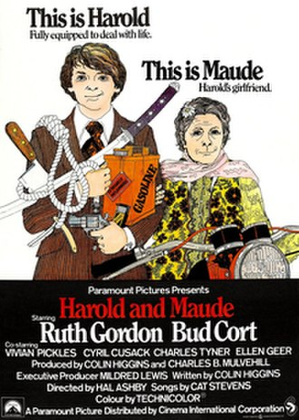 Harold and Maude - Theatrical release poster