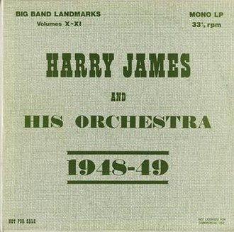 Harry James And His Orchestra 1948-49 - Image: Harry James And His Orchestra 1948 49Album Cover