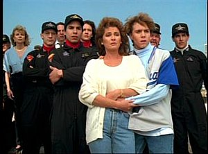 Higher Power (seaQuest DSV) - The crew of the seaQuest watch in disbelief as their boat is plunged into a massive lava well and destroyed.