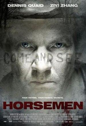 Horsemen (film) - Theatrical release poster