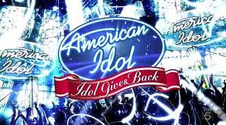 Idol Gives Back - Image: Idol Gives Back Logo