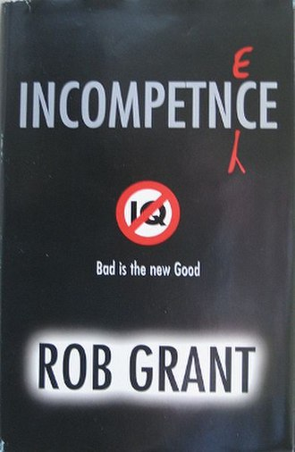 Incompetence (novel) - First edition cover