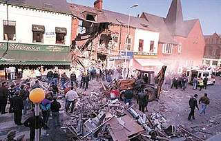 Shankill Road bombing Terrorist attack