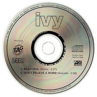 "Beautiful (Ivy song) - Image: Ivy ""Beautiful"""