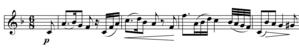 Jena Symphony - Image: Jena Sym Satz 2Quote