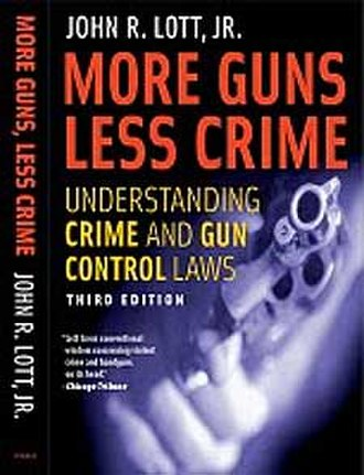 More Guns, Less Crime - Image: John R. Lott More Guns Less Crime