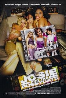 <i>Josie and the Pussycats</i> (film) 2001 film by Deborah Kaplan, Harry Elfont
