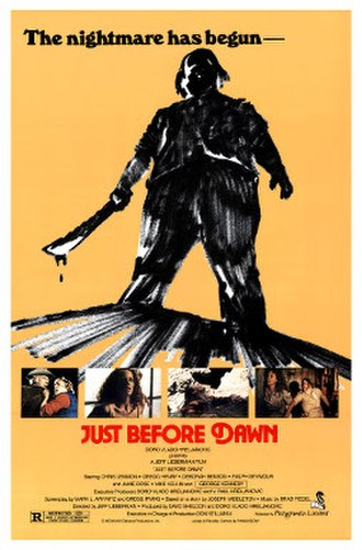 Just Before Dawn (1981 film) - Image: Just Before Dawn