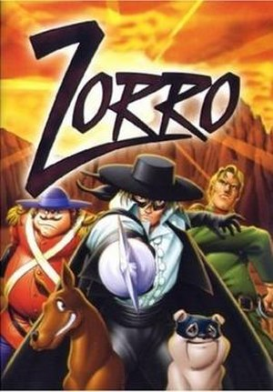 The Legend of Zorro (anime series) - Promotional poster for the television series Kaiketsu Zorro