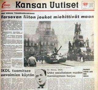 <i>Kansan Uutiset</i> Finnish newspaper published in Helsinki