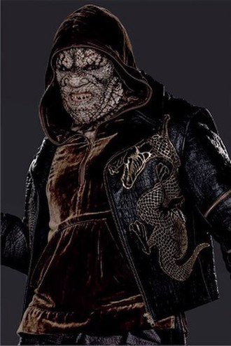 Killer Croc - Killer Croc makes his live action debut in the DC Extended Universe, portrayed by Adewale Akinnuoye-Agbaje.