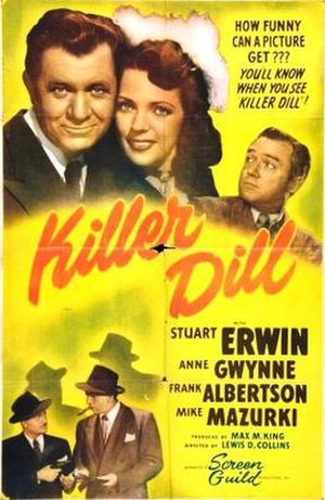 Killer Dill - Theatrical release poster